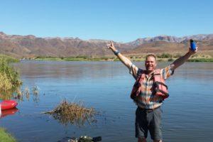 best part of the Orange River canoeing adventure
