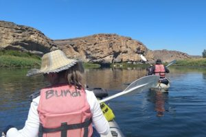 Canoe the Orange River and explore its beautiful scenery while doing a day tour
