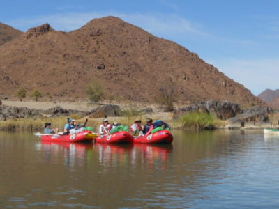 drifting, floating and hanging on the Orange River Rafting expeditions are extra special