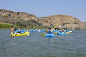 5 day rafting the Orange River
